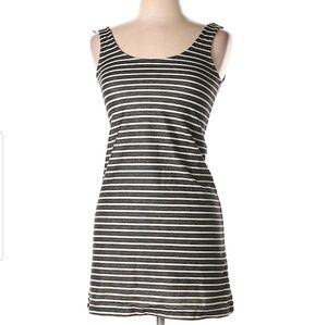 Madewell xxs striped A line dress